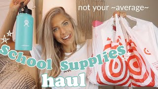 college back to school supplies haul