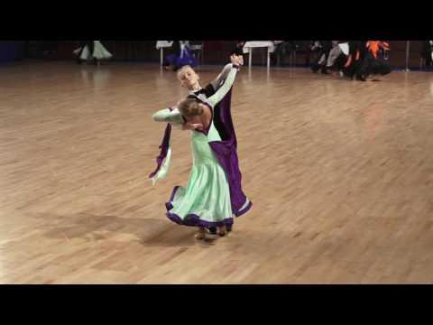 Daniil Zhurbenko - Valeria Samordina | R2 Viennese Waltz | Moscow Region Championship 2017