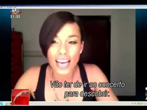 Alicia Keys Web Interview Lisboa