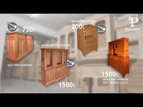 Muebles polque venta especial youtube - Muebles arganda horario ...