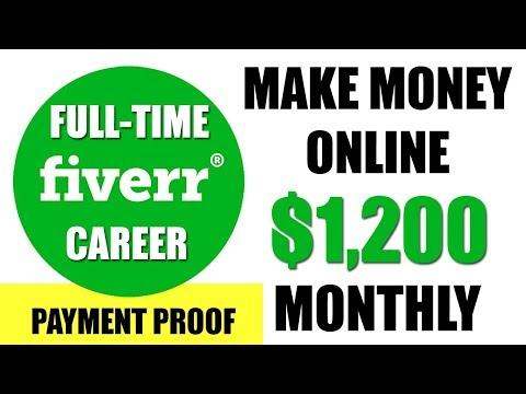How to Make Money Online on FIVERR - $1200 P.M. Complete FIVERR Tutorial for Beginners in HINDI 2017