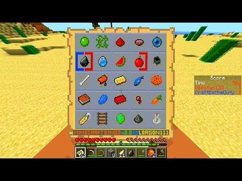 Minecraft Mini-Game: BINGO #2 Part 1 with Vikkstar & CraftBattleDuty