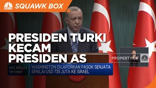Presiden Turki Kecam Presiden AS