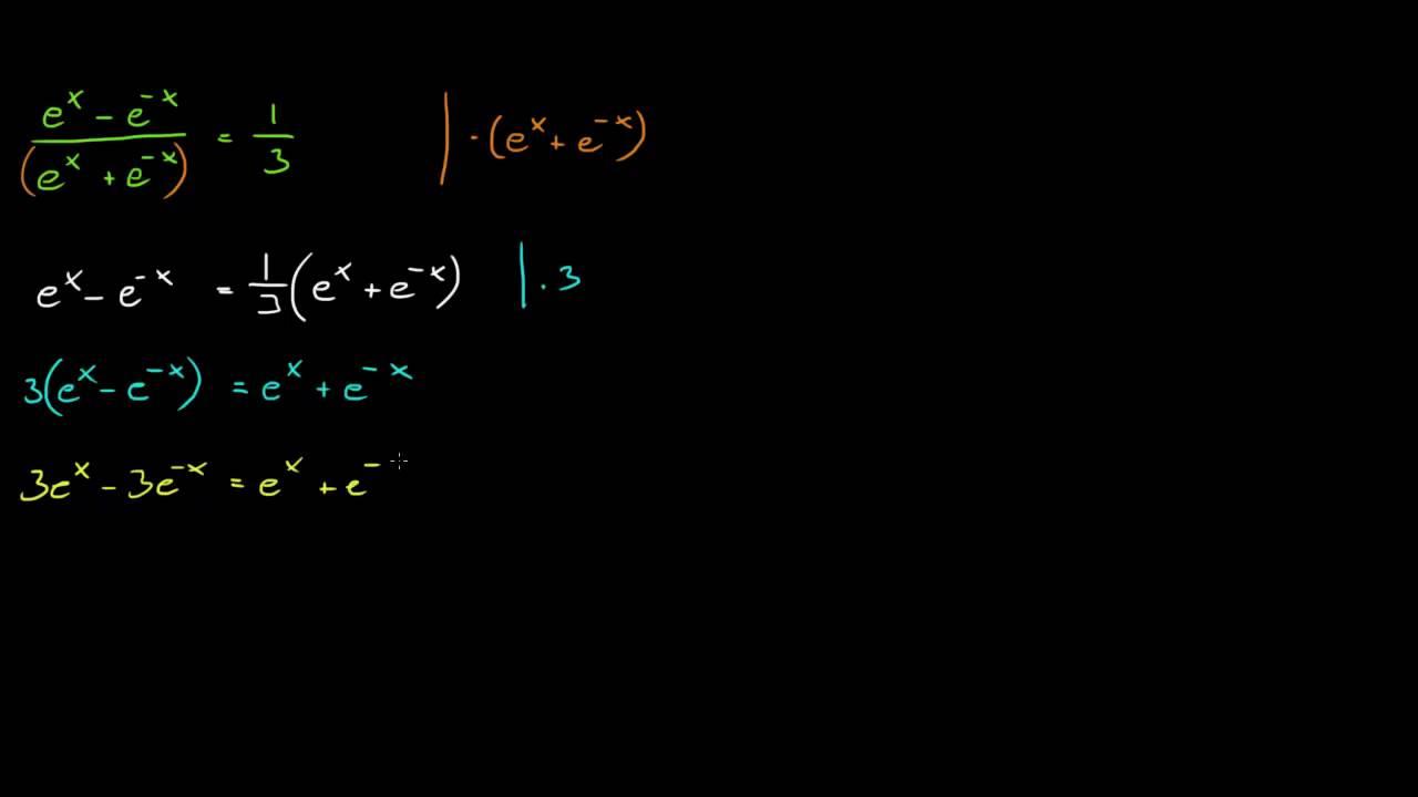 Forespørsel - Eksponensial-likning