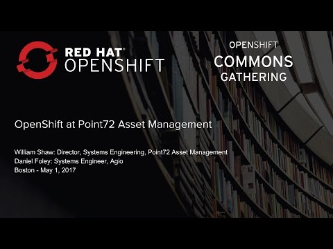 OpenShift at Point72