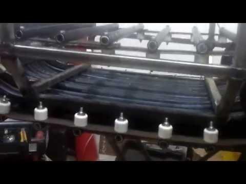 видео: мини снегоход своими руками часть 3