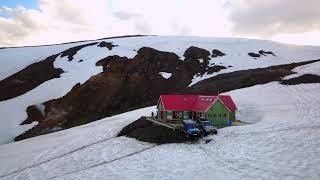 Hrafntinnusker w Islandii - pośrodku niczego