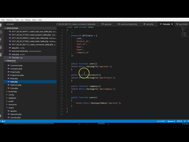 Laravel 5 5 tutorial   20   creating more controllers