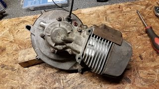 Piaggio Moped Engine Rebuild