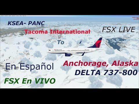 ENG-ESP KSEA-PANC  Tacoma International To Anchorage Alaska