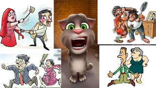 Patni chalisa //role of wife in husbands life comedy video by talking tom