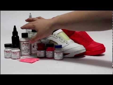 99bab832aa6d How to paint Solar Red - Red October Jordan 5 KOS Kinofsneakers.com ...