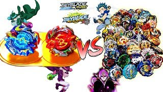 EPIC DUO: CHO-Z ECLIPSE VS CHO-Z AND TURBO BEYBLADES
