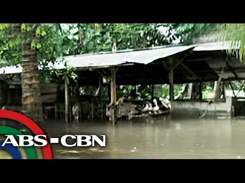 Floods swamp South Cotabato town, city