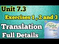 Translation Unit 7 3 Exercises 1 2 And 3 New English Book Class 9 Sindh Board Unit 7 3 Exercise mp3