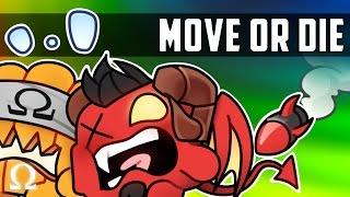 ANYONE'S GAME, WHO'S GONNA WIN!? | Move or Die Halloween Edition Ft. Delirious, Cartoonz, Bryce