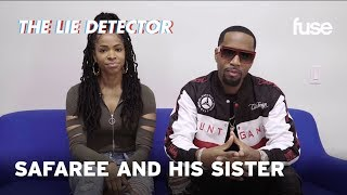Safaree and His Sister Take A Lie Detector Test | Fuse