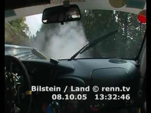Porsche 911 GT3 Crash