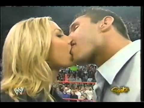 Wwe Stacy Keibler Kiss