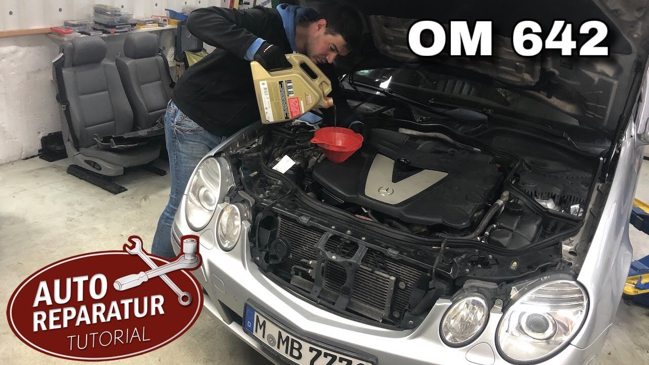 280 300 320 350 CDI Mercedes-Benz Ölfilter SET 6.Zylinder Motoren OM 642