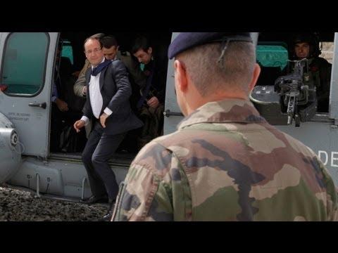 Олланд прибыл в Афганистан без предупреждения