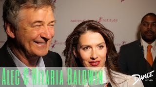 Dance Network Speaks with Alec and Hilaria Baldwin | National Dance Institute