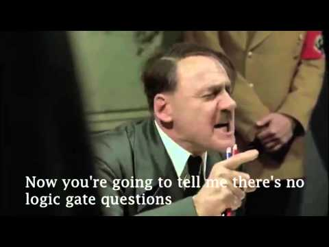 Hitler reacts to the OCR Computing GCSE 2015 exam