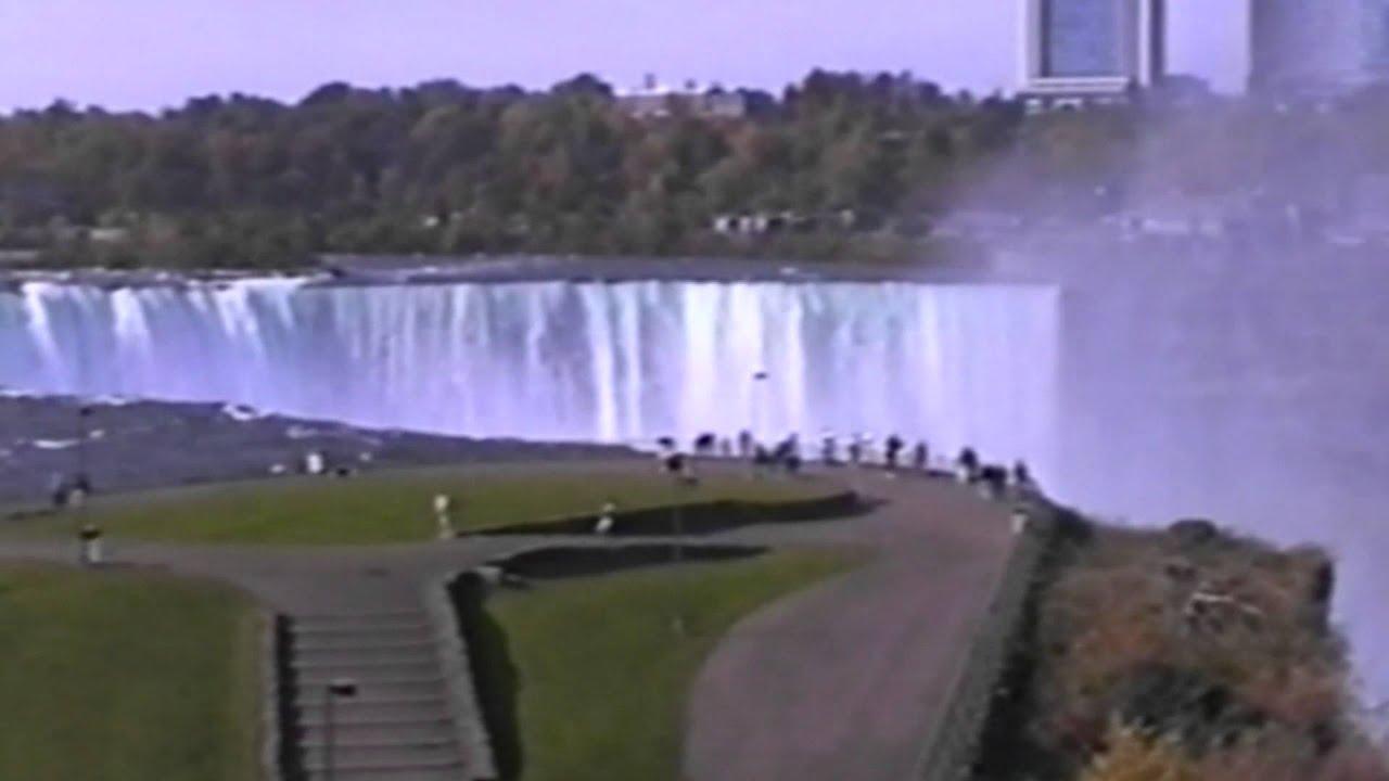 Niagara Falls Canadian And Us Sides