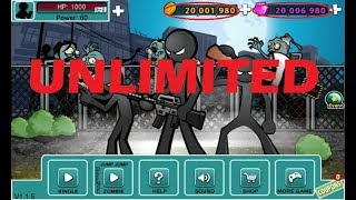 Seperti ini cara cheat Anger of Stick 5  tanpa root. Unlimited money