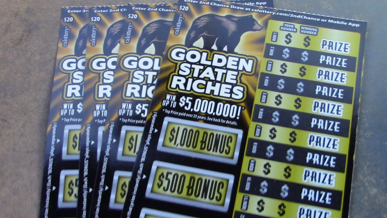 4 IN A ROW OF GOLDEN STATE RICHES!!!!!