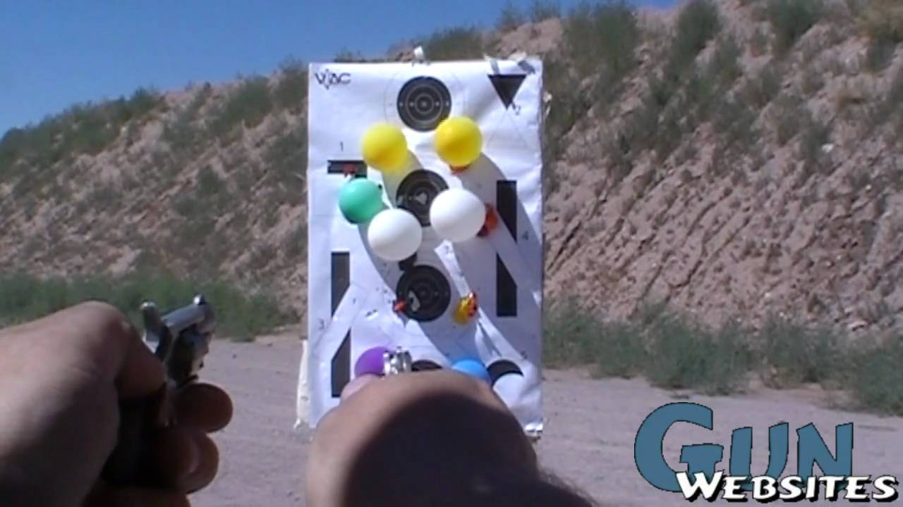 Shooting 2 NAA Mini Revolvers
