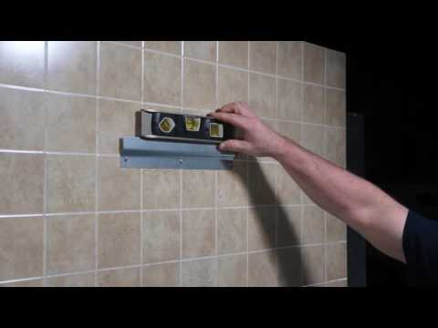 Installing a Brey Krause ADA Tilt Frame Mirror