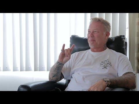 Interview with Metallica's James Hetfield in Toronto, Canada (2017)