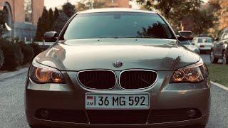BMW E 60 530I ВСЁ ПО ЧЕСТНОМУ ✅ ПУШКА....