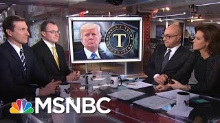 What Does The Trump Foundation Dissolving Mean For The President Trumps? | Velshi & Ruhle | MSNBC thumbnail