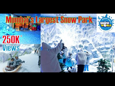 Snow World | Mumbai's Largest Snow Park | Phoenix City Mall Kurla | HD 1080p