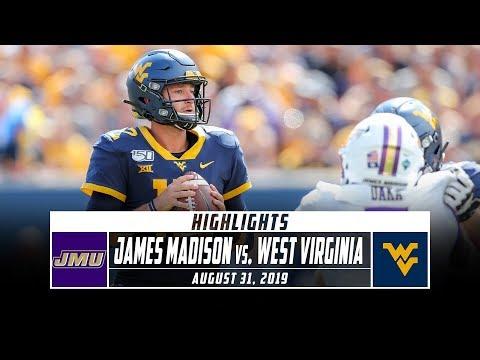 James Madison Vs. West Virginia Football Highlights (2019) | Stadium