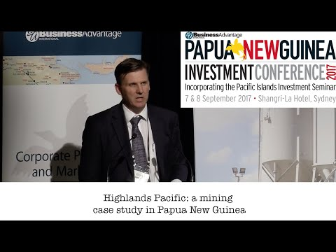 Highlands Pacific: A Mining Case Study In Papua New Guinea