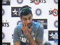 Virat Kohli gets emotional on Sachins retirement