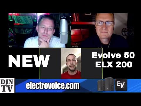 The New DJ Speakers From Electro Voice | Evolve 50 | ELX 200 | With Mike Doucot | #DJNTVLive
