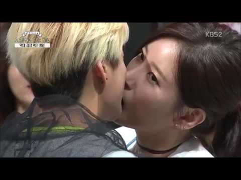 [SUB ESP/ENG] 150823 A Song For You - Amber & Soyeon - Pepero Game