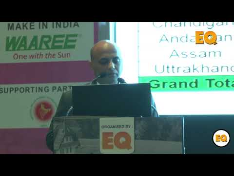 Raghuram V., GM (Projects), Ujaas Energy at Suryacon Pune 2018