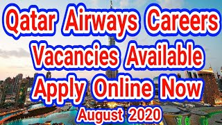 Qatar Airways Careers 2020, Apply Online Now