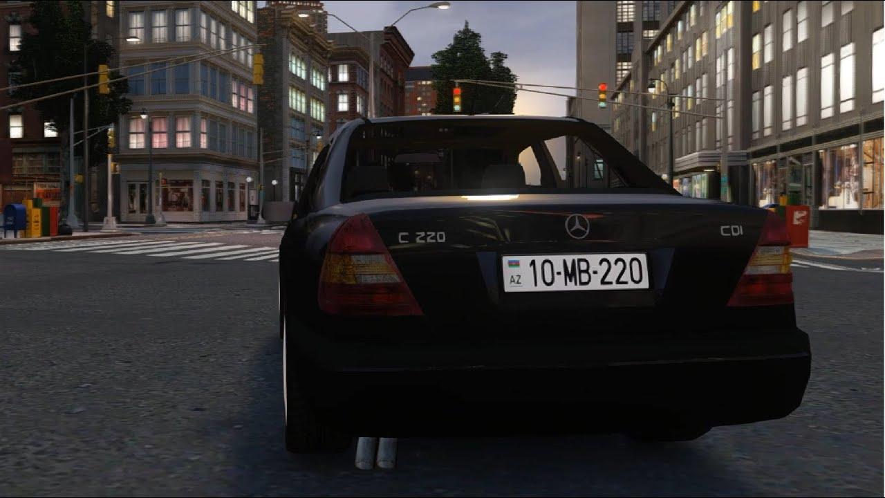 GTA IV - Mercedes Benz C220 W202 | Mods/Modification