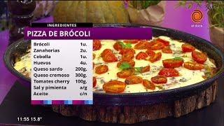 """Hoy preparamos """"pizza de brocolí"""""""