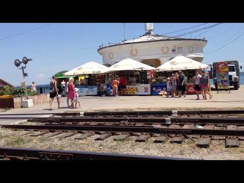 Солнечная Феодосия глазами туриста видеоотзыв. Море отдых пляж. Феодосия, Крым видео.