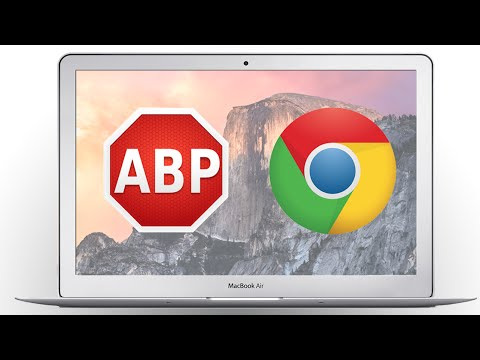 How to Install AdBlock for Chrome!