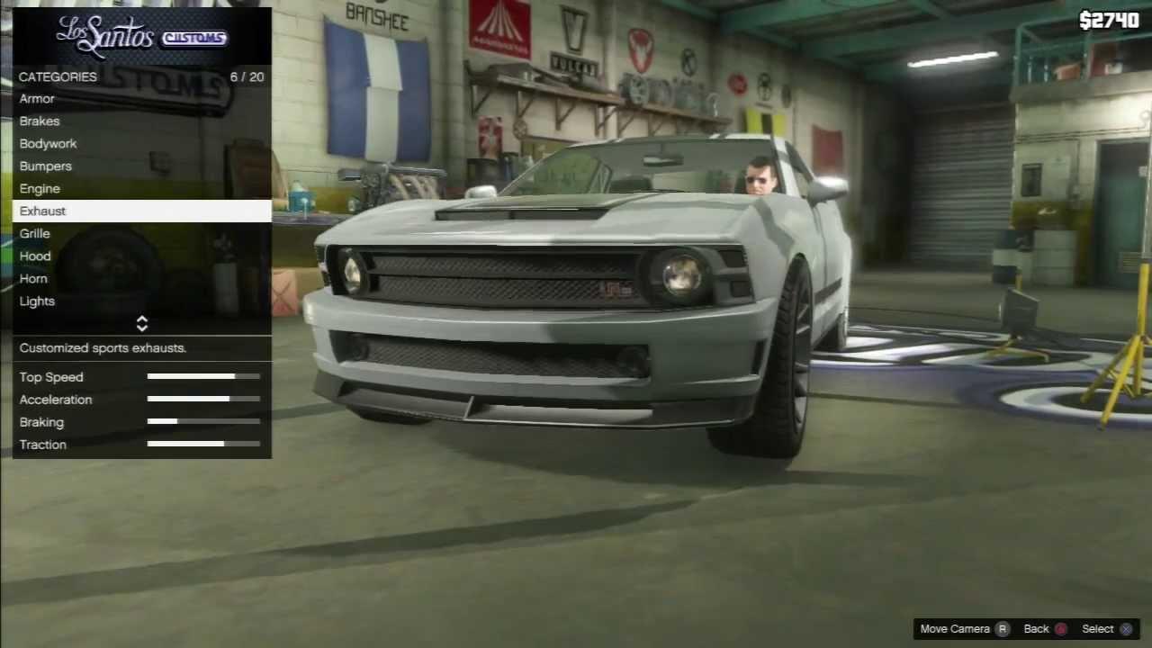 Gta 5 Dominator Quot Ford Mustang Quot Car Tuning Customization