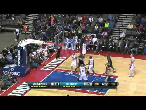 Memphis Grizzlies vs Detroit Pistons - February 19, 2013