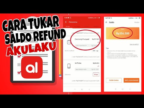 Cara Tukarkan Saldo Refund Di Akulaku Youtube